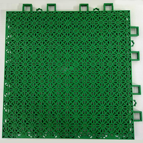 四叶花动力垫拼装地板